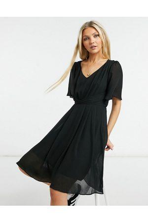 Gilli Draped mini dress in