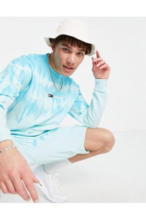 Tommy Hilfiger Tjm tie dye crew neck sweat-Blues