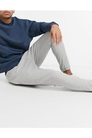 SELECTED Crew sweatpants-Grey