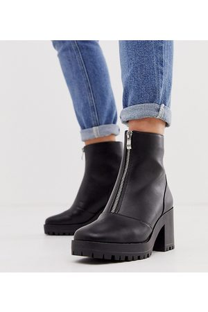 Raid Wide Fit Exclusive Janella chunky boots in
