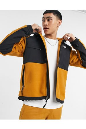The North Face Denali hoodie in yellow