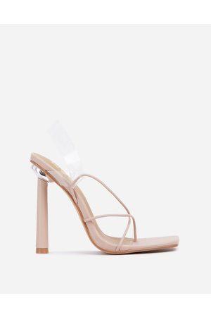 Ego X Molly-Mae Comethru strappy sandals in -Neutral
