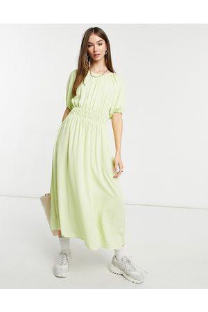 Y.A.S Polka dot midi tea dress in