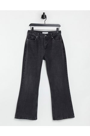 Topshop Two 90s flare jean in washed