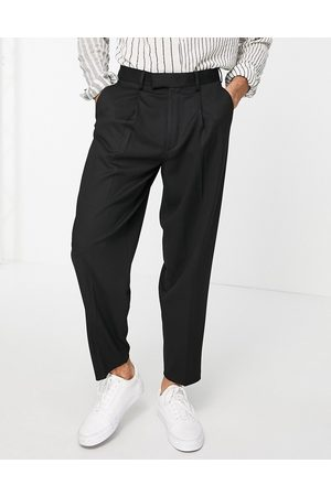 ASOS Oversized tapered smart pants in