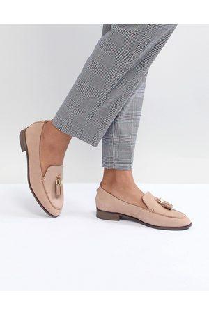 Carvela Tassle Leather Loafer-Neutral