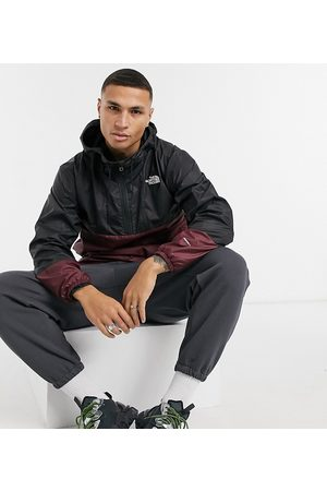 The North Face Wind anorak in burgundy Exclusive to ASOS
