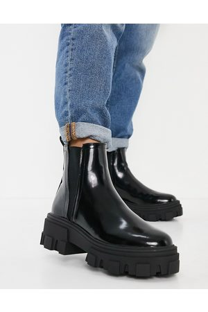 ASOS Addy chunky chelsea boots in