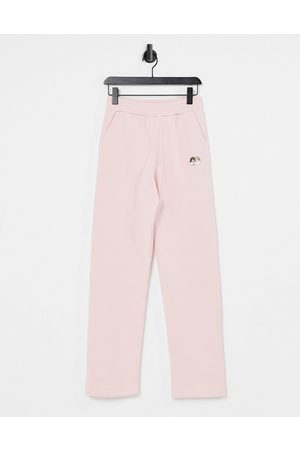 Fiorucci Icon angels straight leg sweatpants in dusty - part of a set