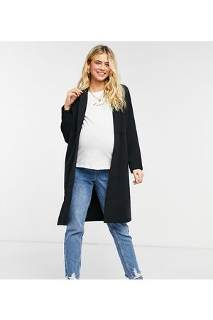 Pieces Maternity Longline jersey jacket in