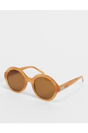 HUGO BOSS Hugo 1205/S round lens sunglasses