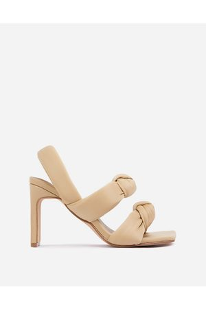 Ego X Molly-Mae Infatuated padded heeled sandals in