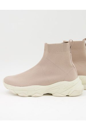 ASOS Knitted sock sneakers in