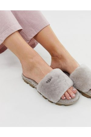 UGG Cozette slide slippers in oyster-Grey