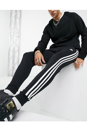 adidas Adicolor three stripe sweatpants in