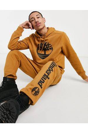 Timberland Core Tree Logo hoodie in beige