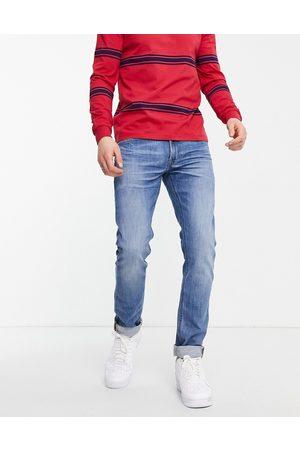 Lee Luke slim tapered jeans-Blues
