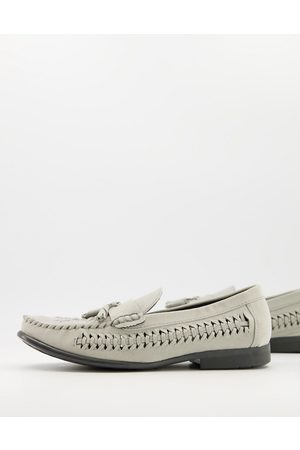 Brave Soul Men Loafers - Faux suede loafers in -Grey