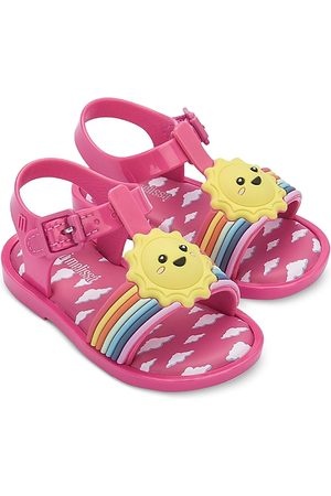Mini Melissa Girls' Mini Mar Sandals - Walker, Toddler