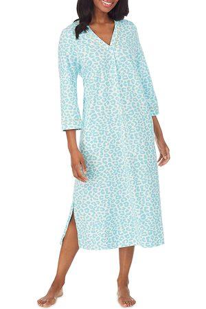BedHead Printed Caftan Nightgown