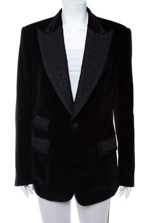Dolce & Gabbana Velvet Casino Tuxedo Jacket L