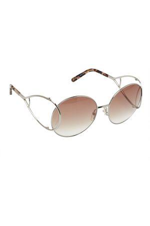 Chloé Chloé Silver Tone/ Gradient CE124S Jackson Round Sunglasses