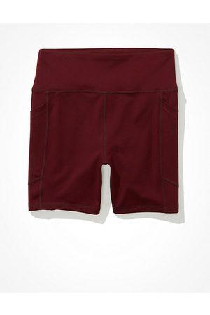 American Eagle Outfitters Women Swimwear - The Everything Pocket Highest Waist Midi 5 Bike Short Women's XXS