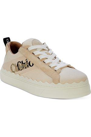 Chloé Women's Lauren Logo Platform Sneakers
