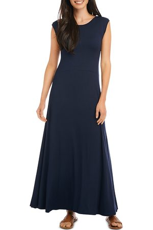 Karen Kane V Back Knit Maxi Dress