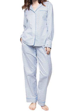Petite Plume La Mer Cotton Pajama Pants Set