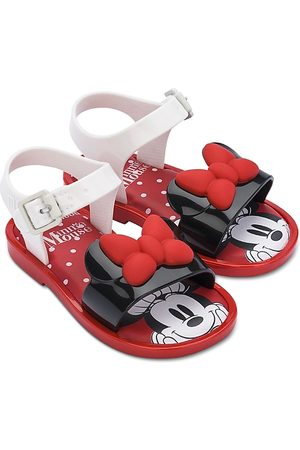 Mini Melissa Girls' Mini Mar Minnie Mouse Sandals - Walker, Toddler