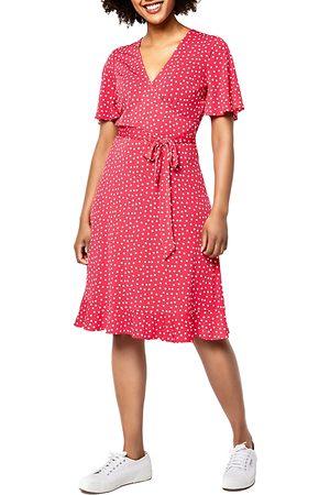 Leota Women Dresses - Hayley Fit and Flare Wrap Dress