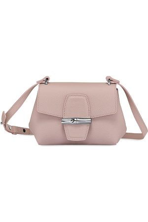 Longchamp Roseau Mini Leather Crossbody