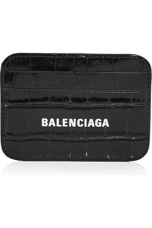 Balenciaga Cash Leather Card Case