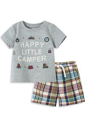 Peek Kids Boys' Happy Little Camper Shorts Set - Baby