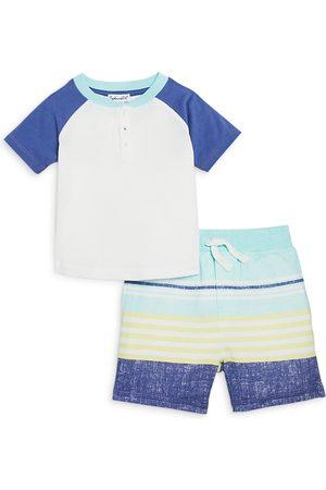 Splendid Boys' Sunkissed Henley & Shorts Set - Baby