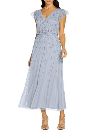 Adrianna Papell Beaded Cocktail Dress - 100% Exclusive