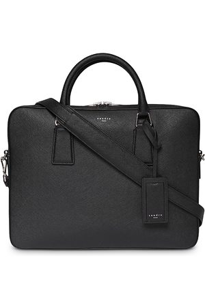 Sandro Downtown Large Leather Briefcase