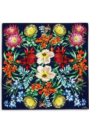 Echo Blooms of Oceana Silk Scarf