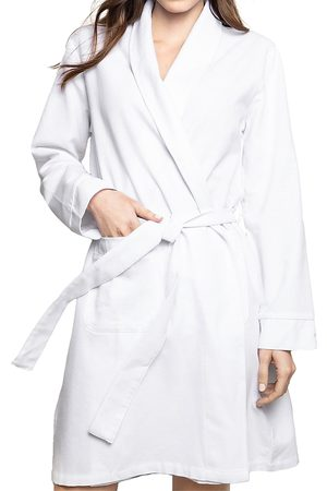Petite Plume Flannel Cotton Robe