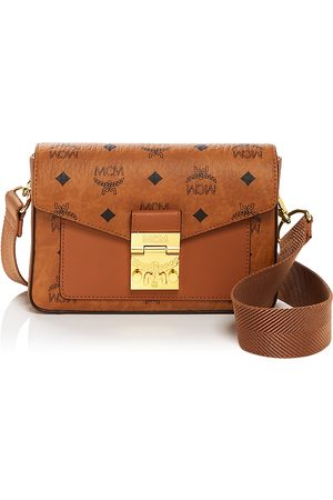 MCM Millie Visetos Small Crossbody