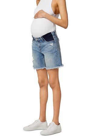 Joes Jeans The 7 Lara Maternity Bermuda Shorts in Indiana