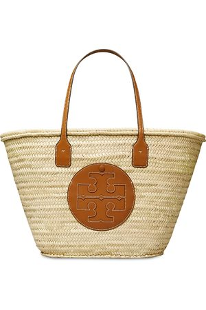 Tory Burch Ella Straw Basket Tote