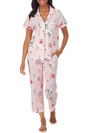 BedHead Printed Short Sleeve Pajama Set