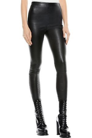 ALICE+OLIVIA Maddox Leather Pants