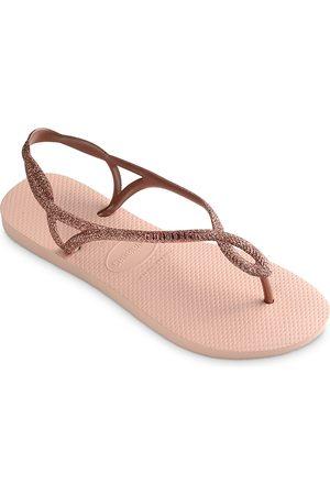 Havaianas Women's Luna Premium Glitter Slingback Flip-Flops