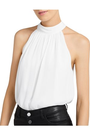 ALICE+OLIVIA Maris Halter Neck Top