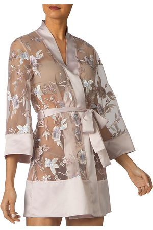 Rya Collection Stunning Embroidered Cover-Up Robe