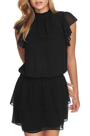 1. STATE Mock Neck Flutter Mini Dress