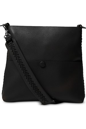 Callista Iconic Slim Messenger Leather Shoulder Bag